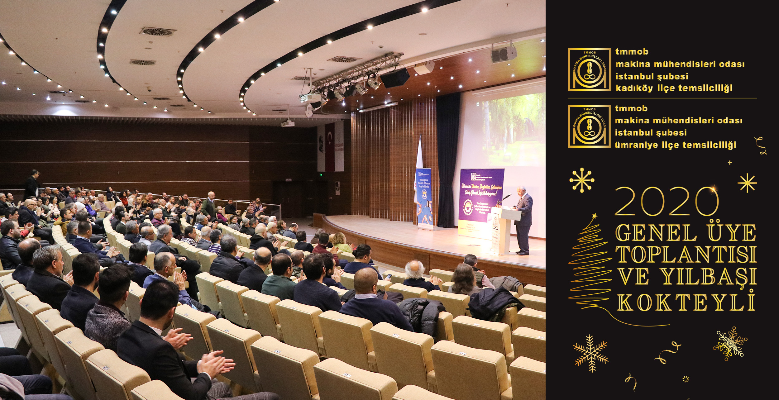 Kadıköy-Ümraniye Temsilcilik Genel Üye Toplantısı ve Yılbaşı Kokteylimiz Gerçekleştirildi