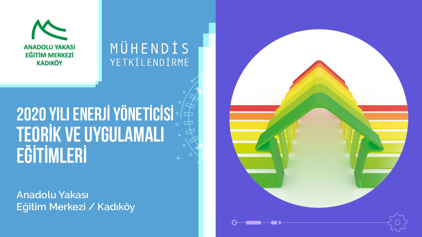 MMO İstanbul Şubesi 2020 Enerji Yöneticisi Eğitimleri