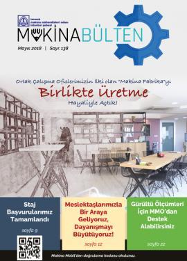 MMO İstanbul Şube Bülteni Mayıs 2018