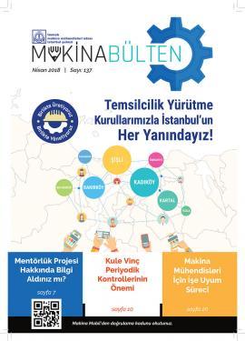 MMO İstanbul Şube Bülteni Nisan 2018