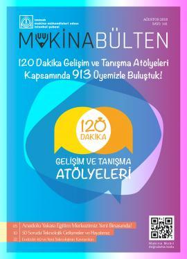 MMO İstanbul Şube Bülteni Ağustos 2018