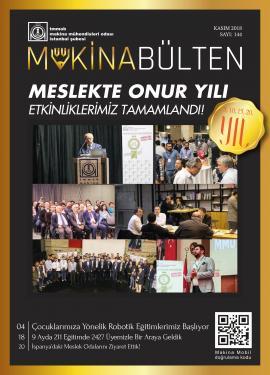 MMO İstanbul Şube Bülteni Kasım 2018
