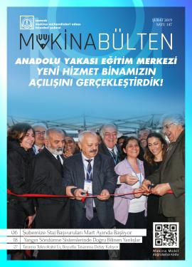 MMO İstanbul Şube Bülteni Şubat 2019